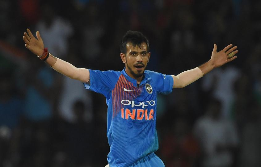 Chahal was irresistible, claiming three cheap wickets