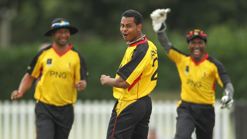 Norman Vanua finished with 14 wickets from six games