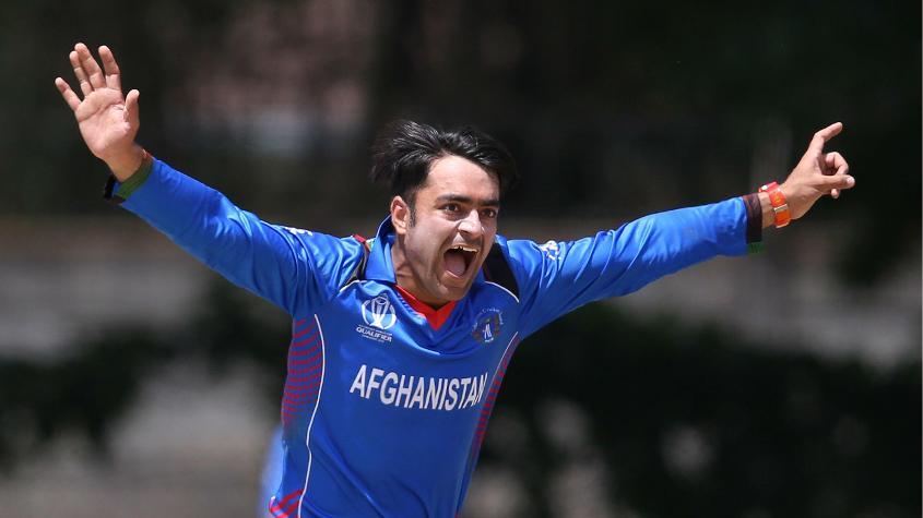 Rashid Khan returned 5/41 to wreck the UAE batting