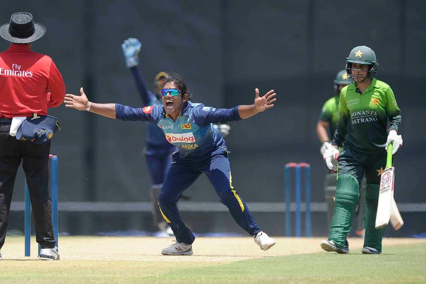 Chamari Athapathuthu followed up her two wickets with a brisk 46 in Sri Lanka's opening ODI against Pakistan