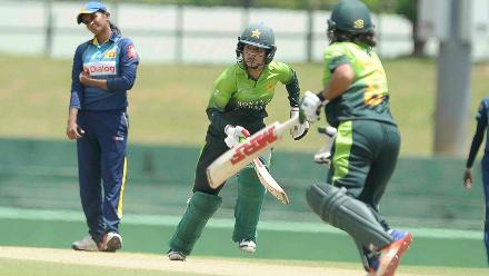 Javeria Khan scored an unbeaten 142-ball 113 laced with 15 fours to get her side to a good position