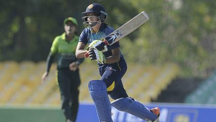 Shashikala Siriwardena scored a 74-ball 44, but found little support from the other batters