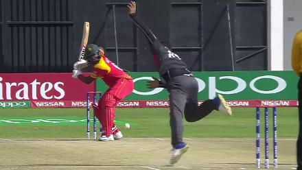 Mohammad Naveed's 3/40 v Zimbabwe at CWCQ