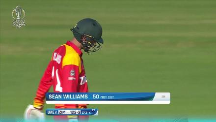 Sean Williams' 80 v UAE at CWCQ