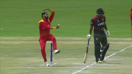 CWCQ POTD - Muzarabani's top catch to dismiss Anwar