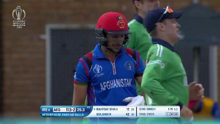 WATCH: Simi Singh takes 3/30 against Afghanistan