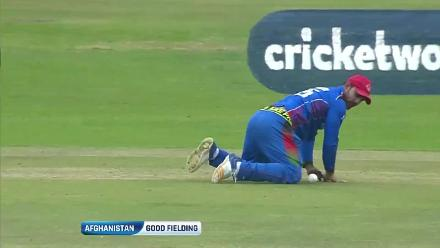 Good Afghanistan fielding restricts Ireland