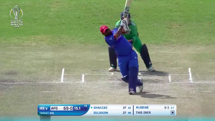 Mohammad Shahzad's 54 against Ireland at CWCQ