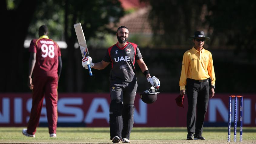 Rameez Shahzad scored a century and a half-century in four appearances