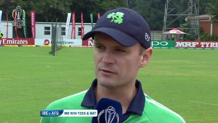 Toss: Ireland choose to bat against Afghanistan