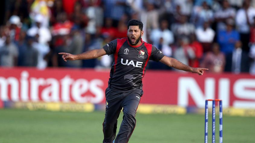 Mohammad Naveed is the second-highest ranked pace bowler on the T20I charts after Faheem Ashraf