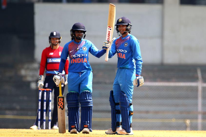 Smriti Mandhana's half-century off just 25 balls was the fastest ever in a T20I for India