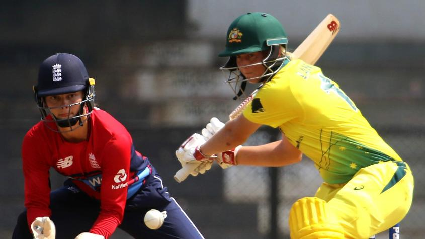 Meg Lanning was at her best, scoring 88* in 45 balls with 16 fours and a six