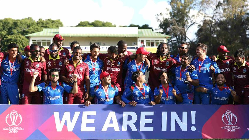 Afghanistan and Windies made the cut for the 2019 World Cup at the end of the qualifiers in Zimbabwe