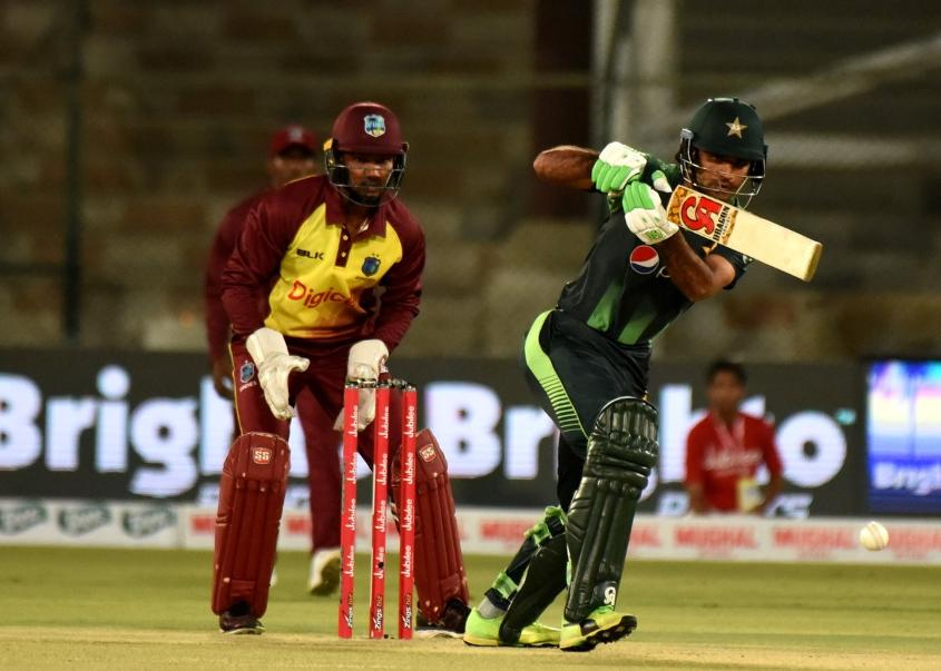Pakistan batted first and made 203/5 from their 20 overs