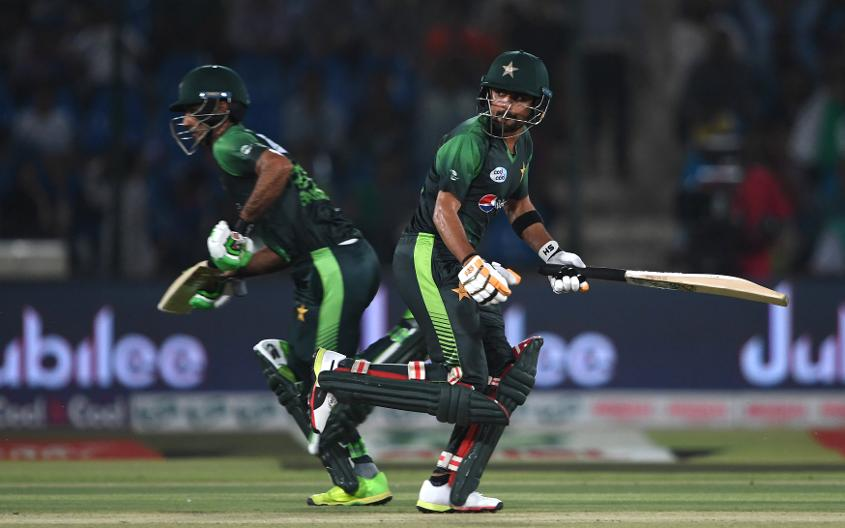 Zaman (left) averages 53.40 in ODIs, while Azam (right) averages 51.29