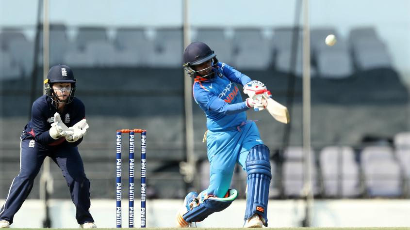 Mithali Raj's form has been patchy of late but when it mattered the most she brought out her best game