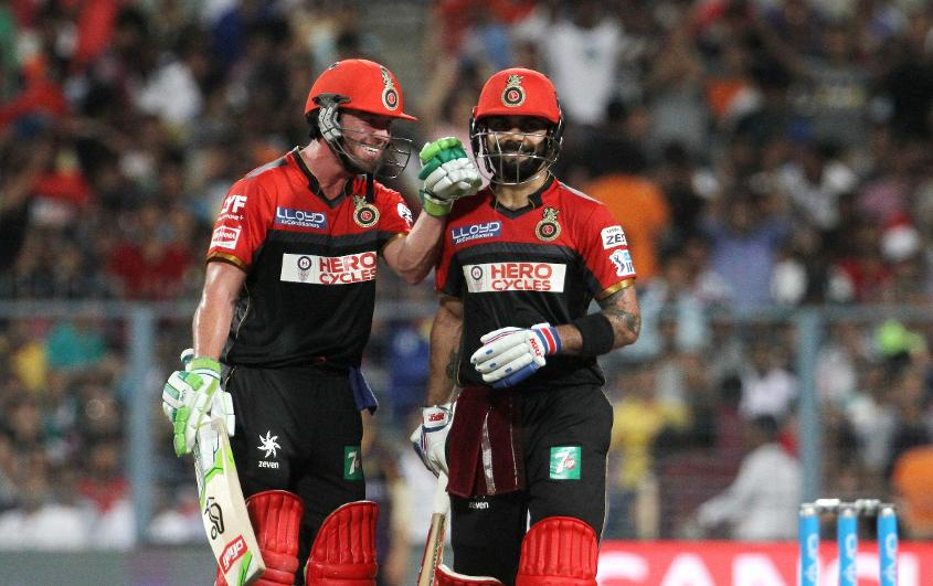 Virat Kohli and AB de Villiers have built a strong respect for each other while playing together in the IPL