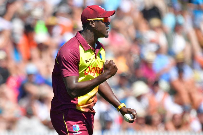 The Windies will be led by Carlos Brathwaite