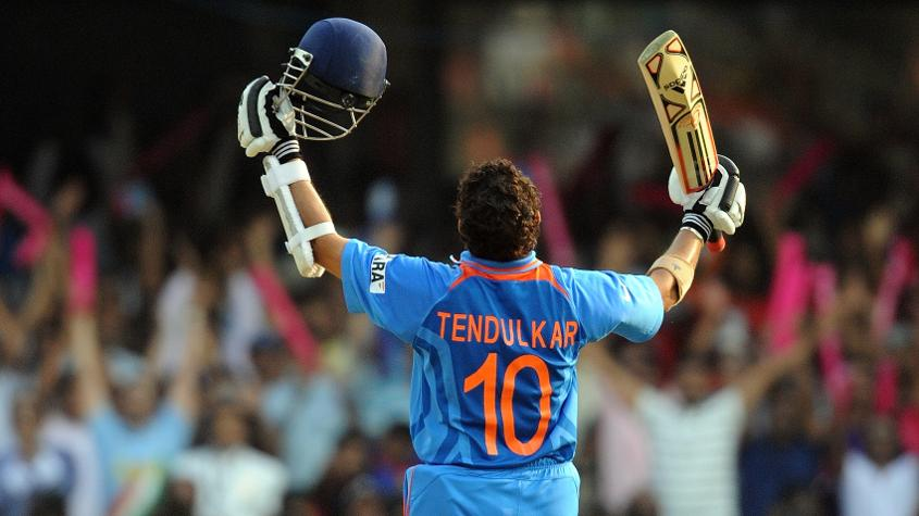 Tendulkar's first century came in his second tournament in 1996, where he scored 127* against Kenya
