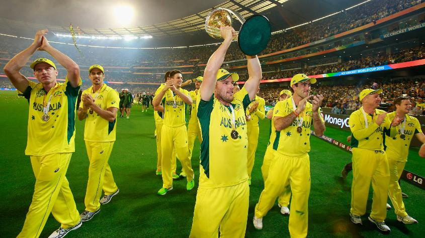 Australia are current holders of the ICC Cricket World Cup