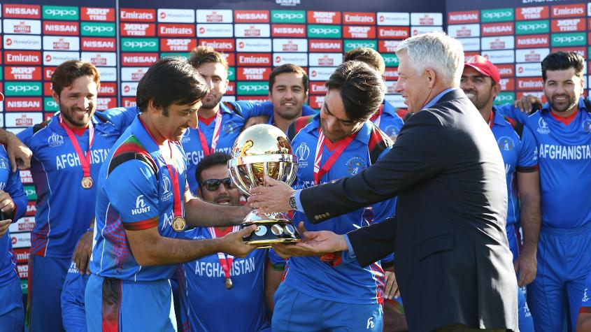 Afghanistan won the ICC Cricket World Cup Qualifier 2018 to qualify for the 2019 event