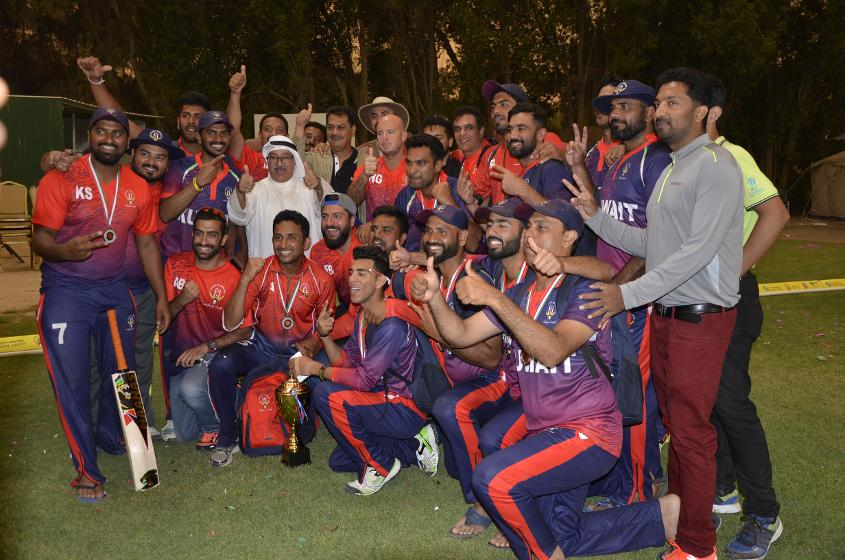 kuwait claimed third spot in the ICC World Twenty20 Asia Qualifiers 'A'