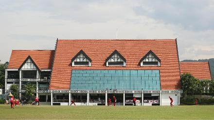 View of the Royal Selangor Club during the match between Denmark and Jersey