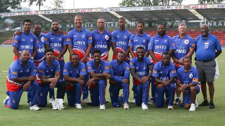 Bermuda team photo
