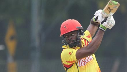Hamu Kayondo scored 44 in 105 balls for Uganda