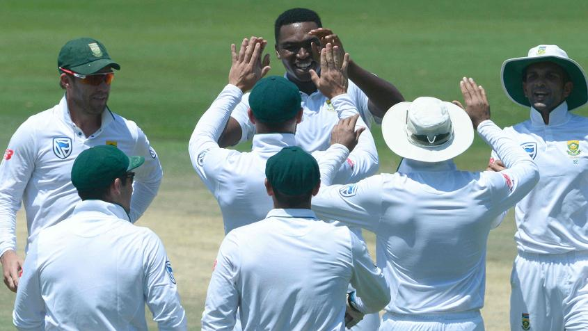 Ngidi had a dream Test debut, returning 1/51 and 6/39 against India in Centurion