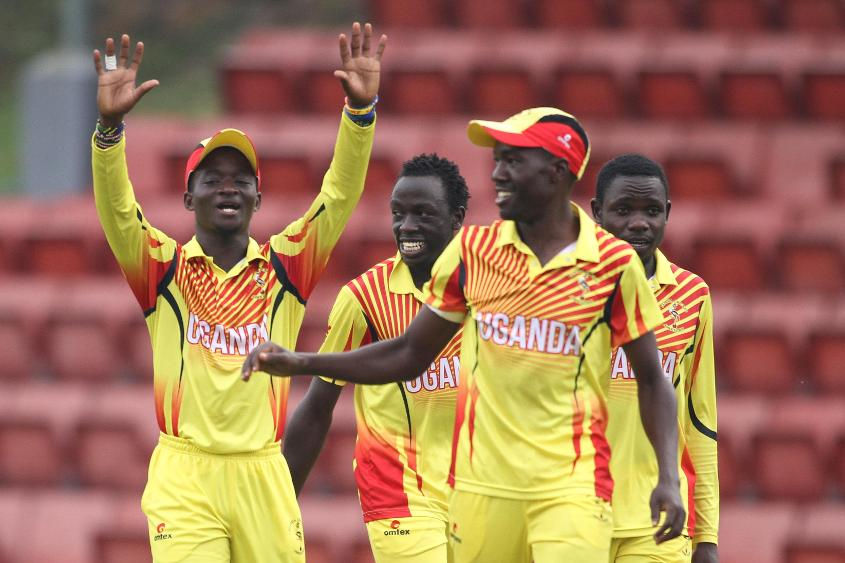 Uganda bowl Denmark out for just 129 in just 29 overs