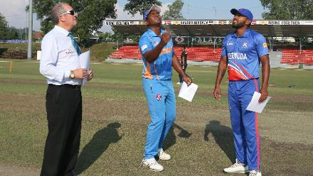 Malaysia won the toss and elected to bat first