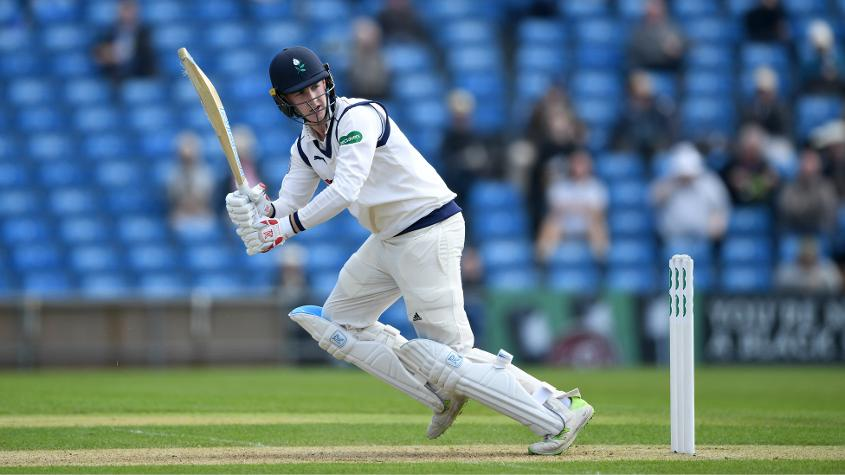 Harry Brook scored his maiden first-class century in conditions that troubled bigger names