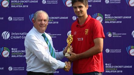 Player of the Tournament - Benjamin Stevens of Jersey