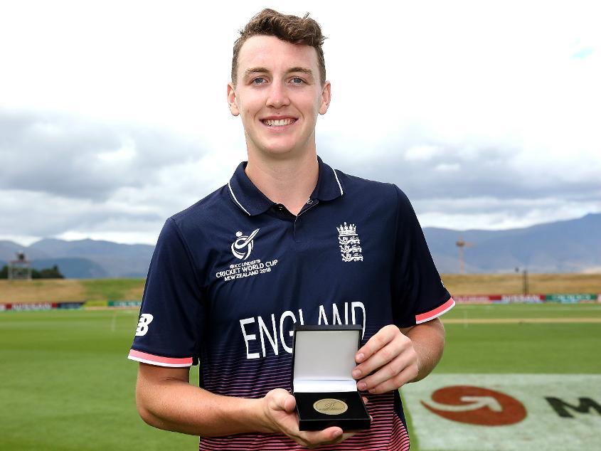 Harry Brook scored 239 runs, including a century and two half-centuries, at the ICC U19 CWC