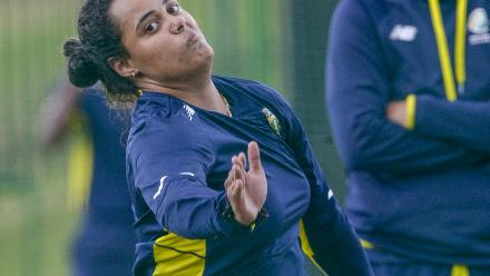 Bangladesh and South Africa train ahead of the second WODI in Potchefstroom