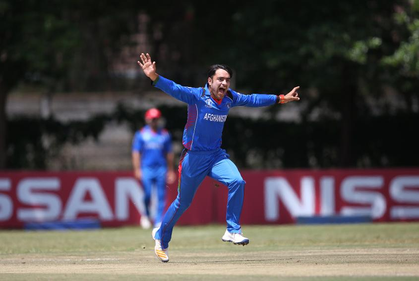 Rashid Khan will be looking to consolidate his place at No.1 in the MRF Tyres ICC T20I Bowling Rankings