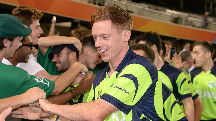 Young was part of Ireland's squad for the ICC Cricket World Cup 2015