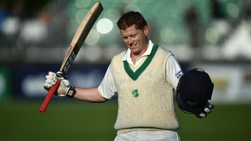 'To become the first Irishman to score a century, and in the first game is a pretty special moment' – Porterfield said of Kevin O'Brien