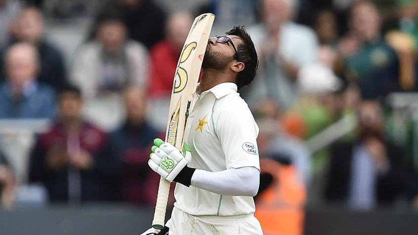 Imam-ul-Haq impressed on Test debut with 74* in the second innings