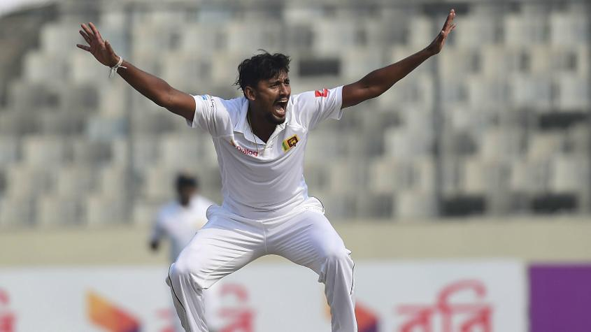 Suranga Lakmal is expected to lead the Sri Lankan pace attack in the Windies