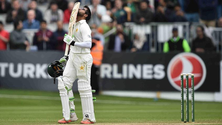 Imam-ul-Haq was one of the stars of Pakistan's win in the Test against Ireland