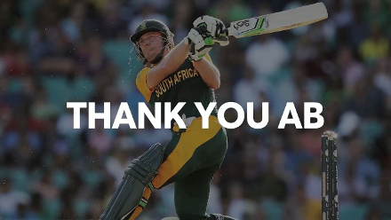 Thank you, AB!