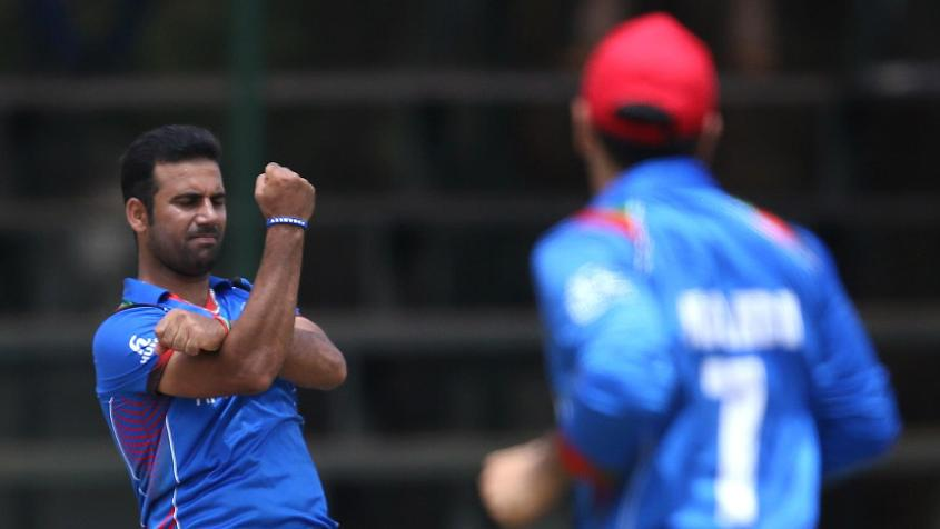 A knee injury has put Dawlat Zadran out of action