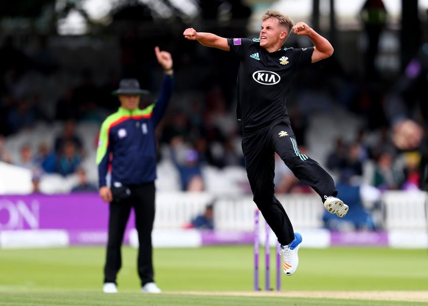 Sam Curran could make his international debut for the ICC World XI