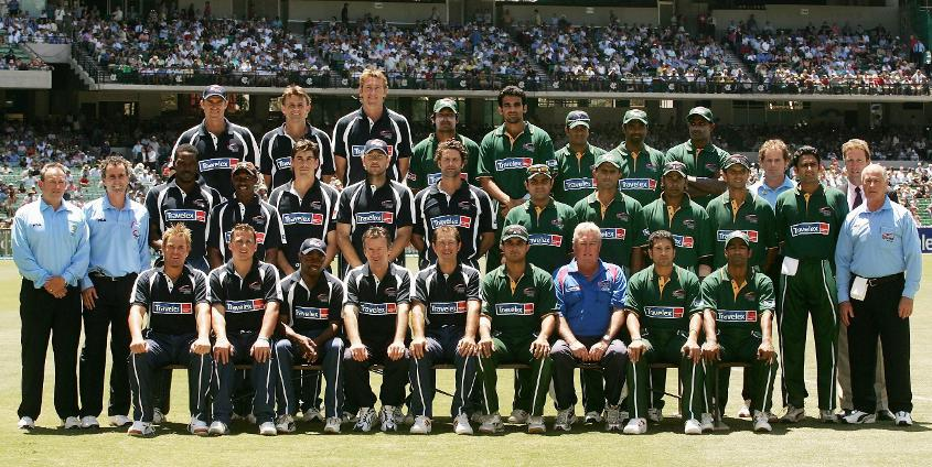 A World XI and Asia XI clashed in 2005 as part of World Cricket Tsunami Appeal
