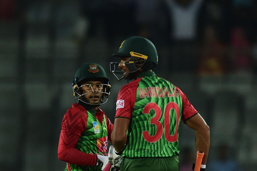 Mahmudullah and Mushfiqur had looked to rescue Bangladesh before Rashid's magic