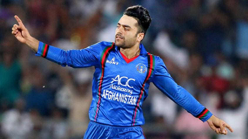 Rashid Khan ended the series with eight wickets at an economy rate of 4.45