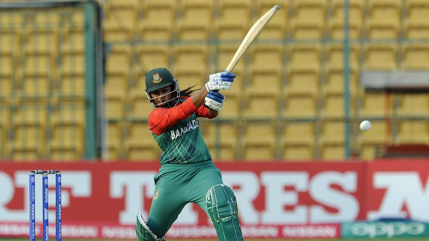 Ayasha Rahman scored 31 off 27 balls and added 59 for the first wicket with Shamima Sultana